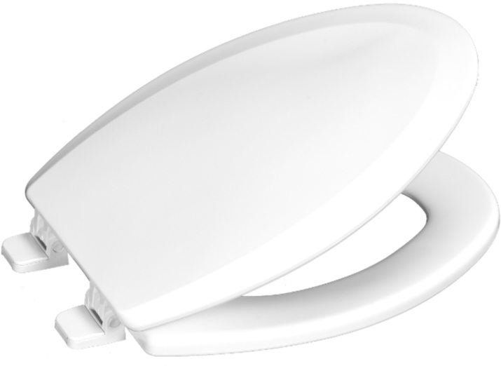Elongated Toilet Seat - Closed Front, Residential Molded Wood