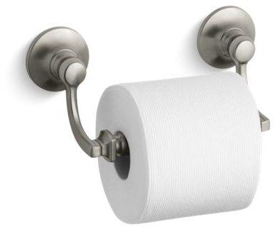 Bancroft Toilet Tissue Holder, Vibrant Brushed Nickel