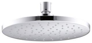 "1-Setting 2.5 GPM Shower Head - Katalyst, Polished Chrome, 8"" Dia"