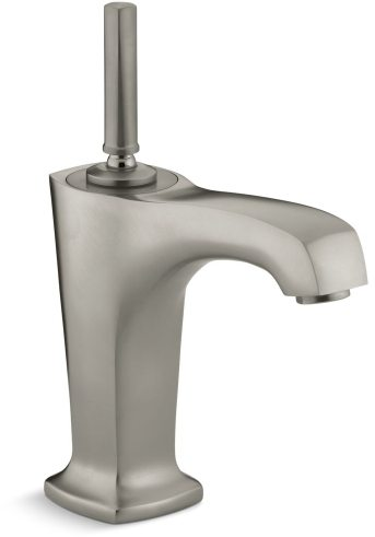 Margaux Single Control Lavatory Faucet Vibrant Brushed Nickel