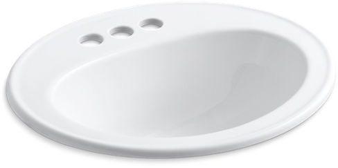 Pennington 20X17 Lavatory 4 Centerset White
