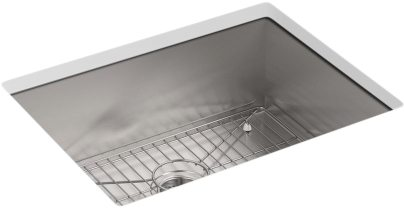 VAULT SINGLE BASIN SINK, 1-HOLE