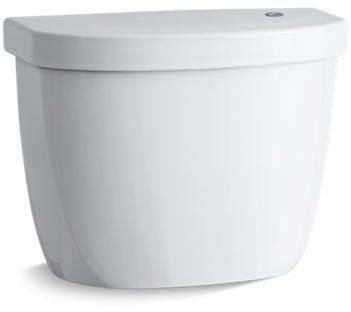 1.28 GPF Toilet Tank - Cimarron, White