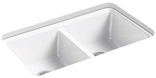 RIVERBY DOUBLE EQUAL UNDERMOUNT SINK