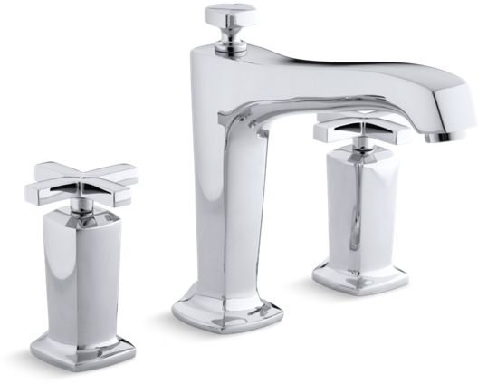 MARGAUX DECK MOUNT BATH FAUCET TRIM