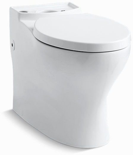Persuade, Comfort Height Elongated Front Toilet Bowl, Vitreous China 1.6 Full, 1 Reduced GPF White
