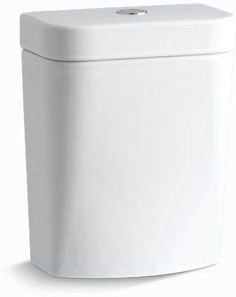 Circ Dual Flush Tank White
