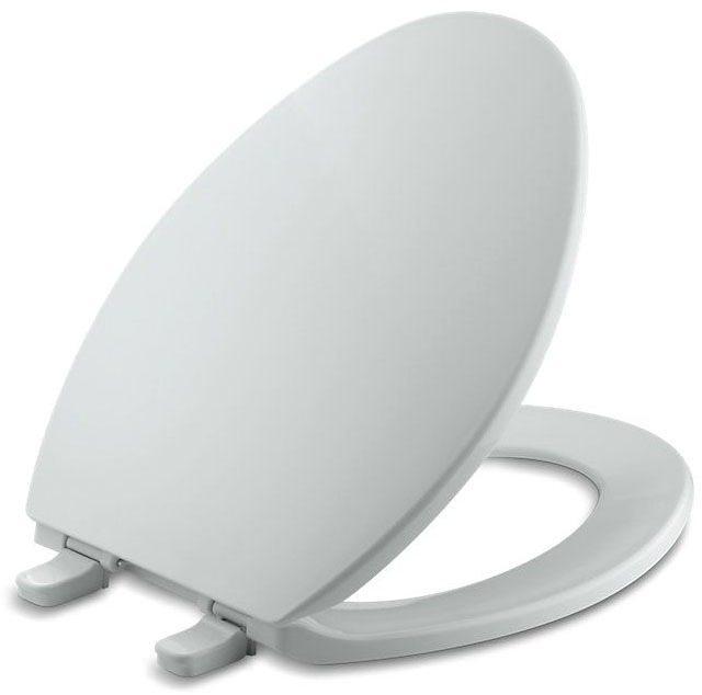 Brev Q2 Advantage Qr Elongated Bowl Toilet Seat Ice Gray