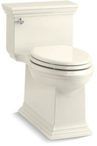 Memoirs, Comfort Height Gravity-Assisted Toilet, Vitreous China 1.28 GPF Biscuit, LH Trip Lever