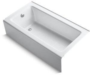 BELLWETHER CAST IRON BATH, LH