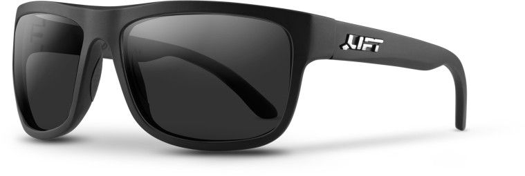 BANSHEE SAFETY GLASSES (MATTE BLACK/SMOKE)