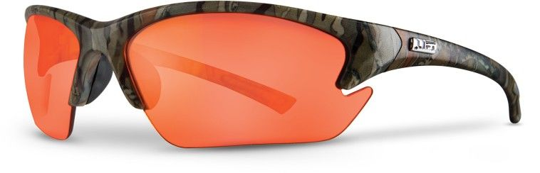 Amber Lens Safety Glasses - Camo Frame