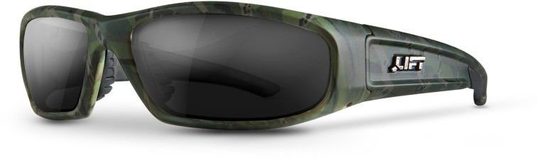 LIFTSAFETY SWITCH SAFETY GLASSES (CAMO/SMOKE) ESH-17CST
