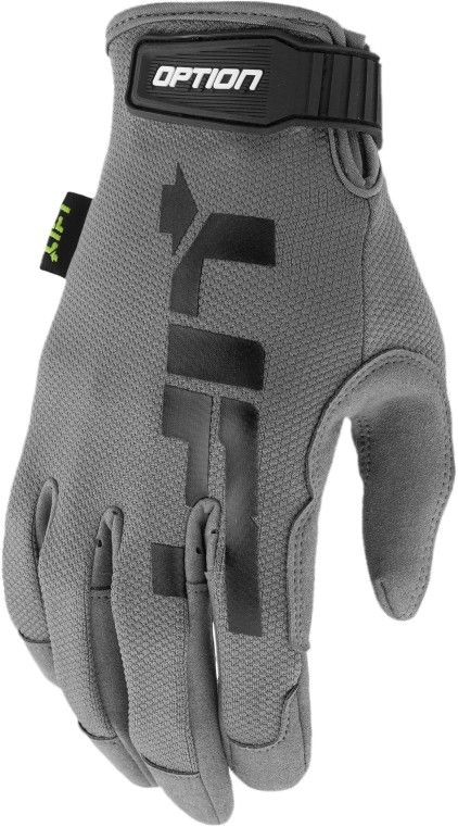 LIFTSAFETY OPTION GLOVE GREY SYN LEATHER AIR MES GON-17YY2L