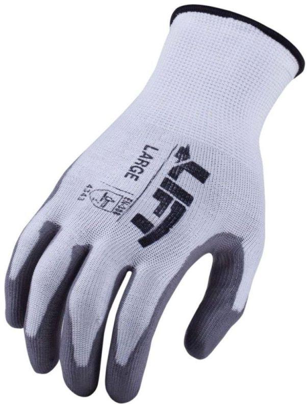 2X-Large Gray Gloves - Workman, Polyurethane Palm