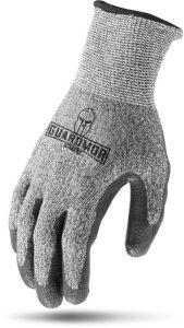 X-Large, Polyurethane Coated Palm, Cut Resistant, Gloves (12 Pair-Bag)