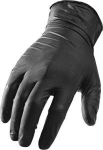 Medium Black Gloves - Workman, Nitrile / Textured