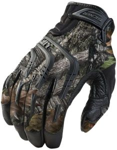 Camo, Leather/TPR, Reinforced, Tracker, Large Tracker Gloves