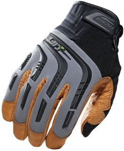 Large Tan Gloves - Leather